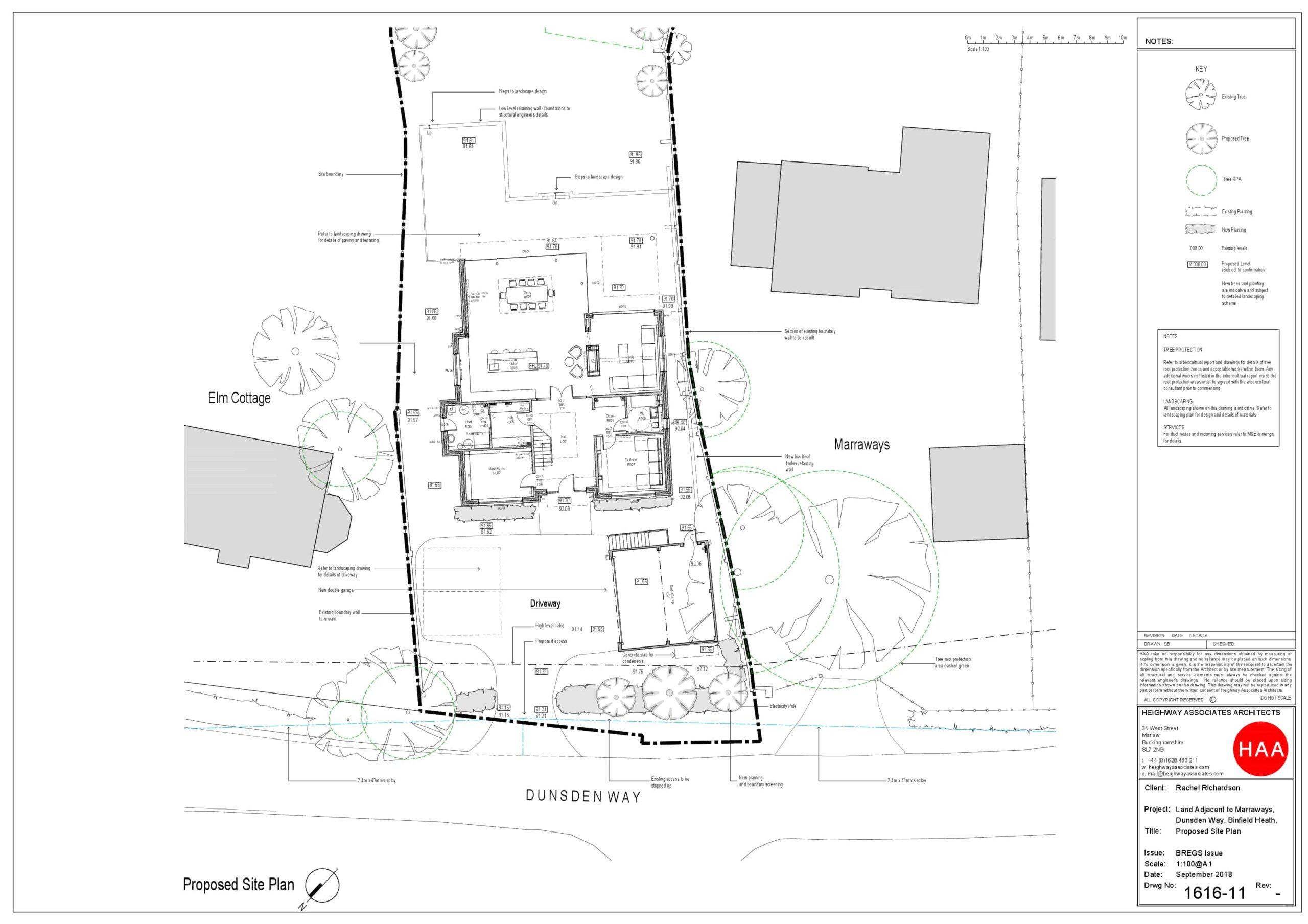 1616-11 Binfield Heath External Works BREGS