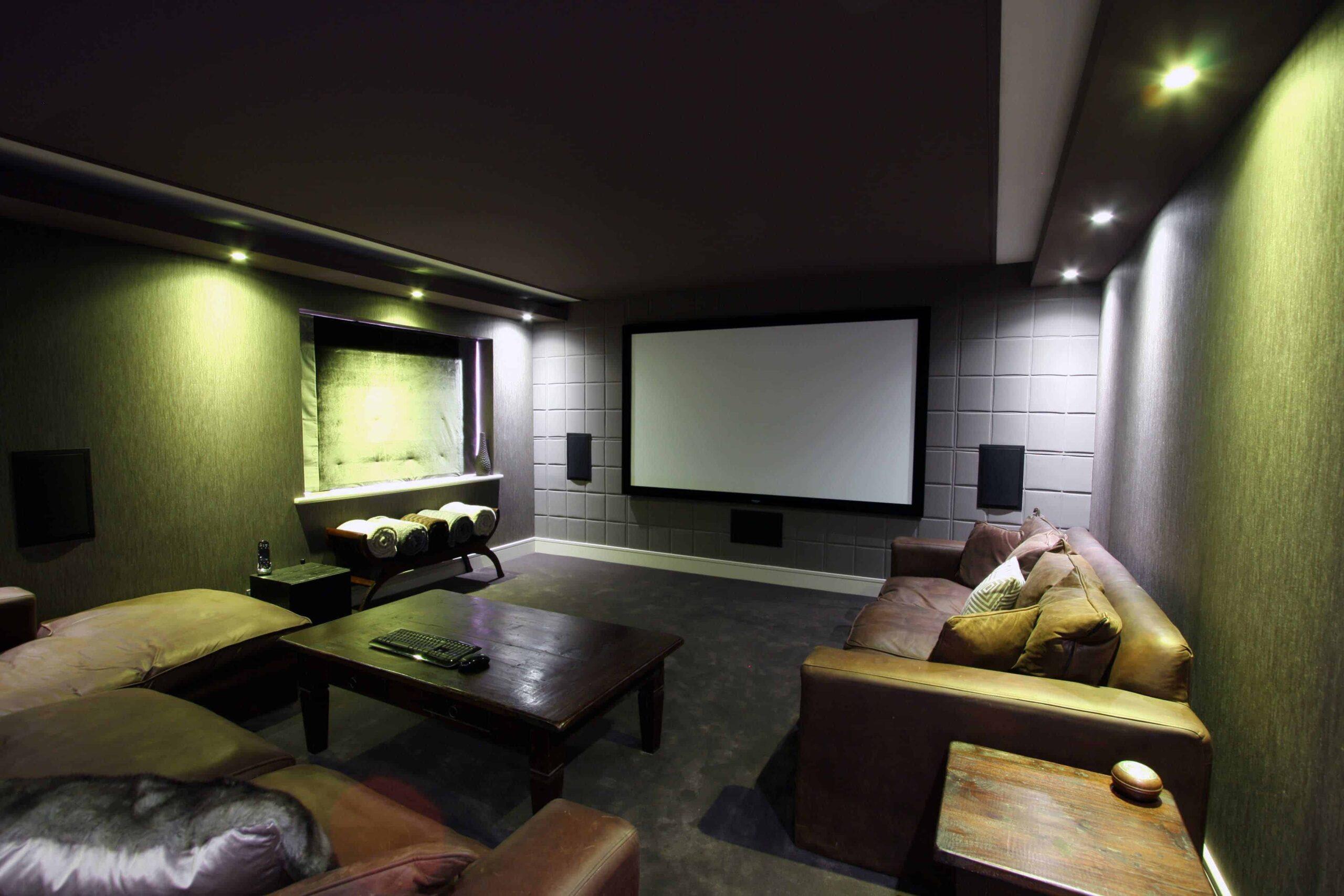 Converted Double Garage - Cinema Room_1
